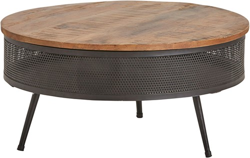 Perfo salontafel met bergruimte big - Best Seller Collection