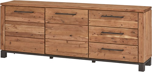 Dressoir 220 met 3 lades en 2 deuren - Dalby Collection