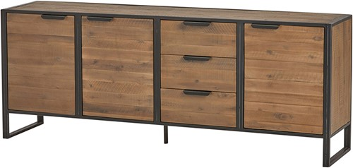 Dressoir met 3 deuren en 3 lades - Eleganza Collection