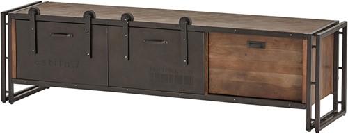 Tv dressoir 160 met 1 lade en 2 schuifdeuren - Estilo 7 Collection