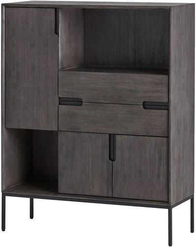 Buffetkast met 3 deuren, 2 lades en 2 open vakken - Gio Collection