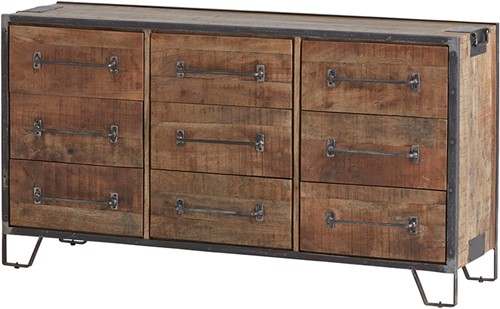 Dressoir 150 met 9 lades - Angles Collection
