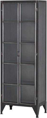 2 deurs kast big met glazen deuren - Ferro Collection
