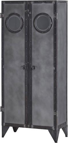 2 deurs kast met porthole - Ferro Collection
