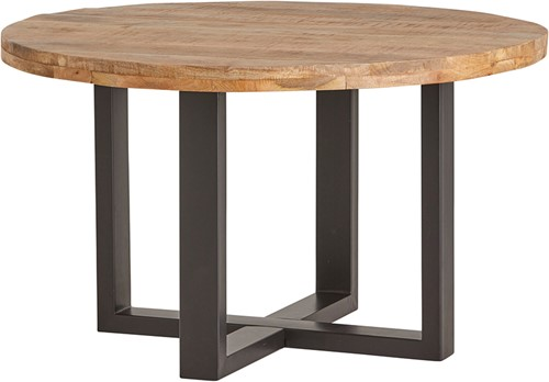 Eetkamertafel rond Ø130 - Rambo Rough Table Collection