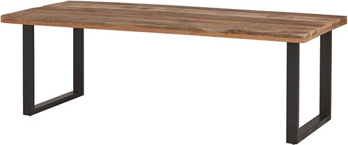 Eetkamertafel recht 200 - Rambo Rough Table Collection