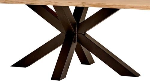 Eettafel onderstel 140x80 cm Spider (10x10) - Metal Legs Collection