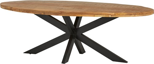 Eetkamertafel ovaal 210 - Peru Rough Table Collection